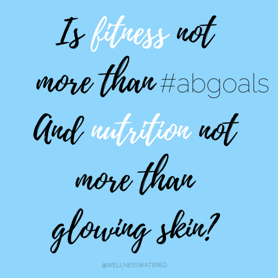 health fitness nutrition abs abgoals glowing skin