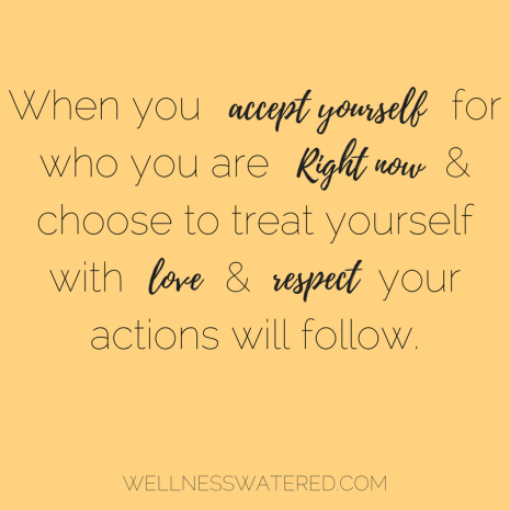 self love love yourself accept yourself