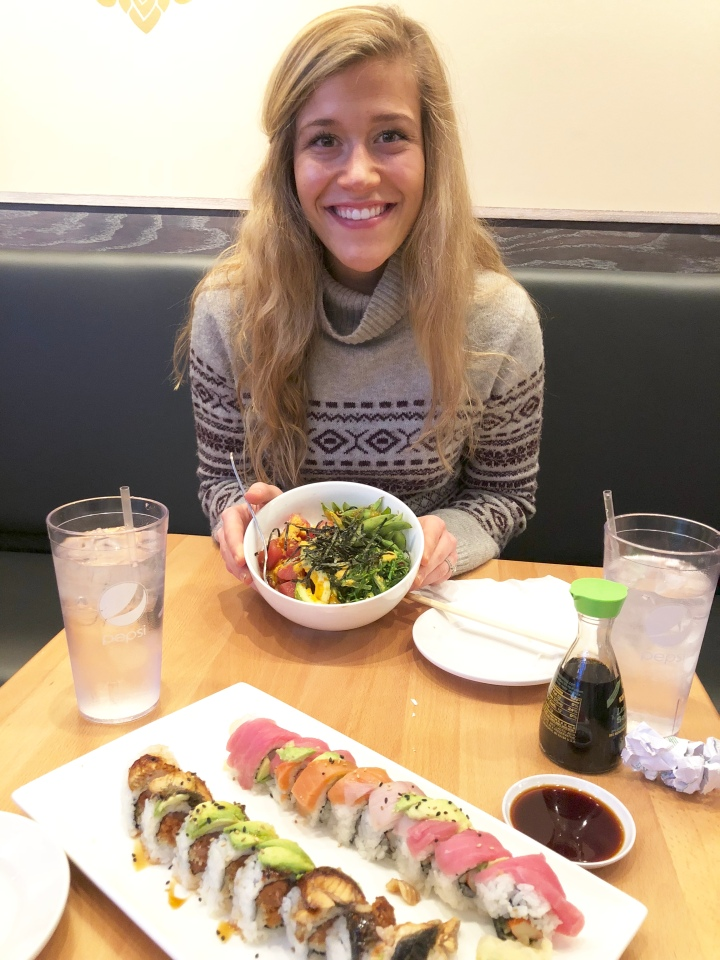 sushi eating healthy emotional eating how to eat as a christian woman