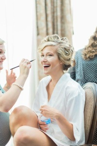 bride getting ready christian blogger health blogger